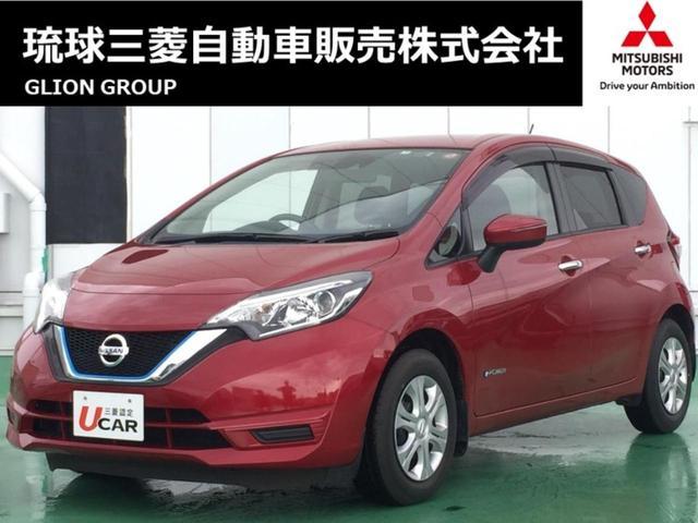 沖縄の中古車 日産 ノート 車両価格 106.8万円 リ済別 2017(平成29)年 2.6万km レッド