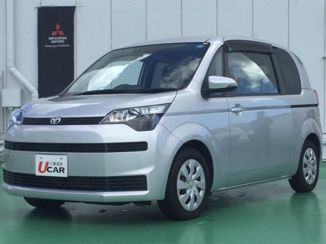 沖縄の中古車 トヨタ スペイド 車両価格 69.8万円 リ済別 2013(平成25)年 1.8万km シルバー