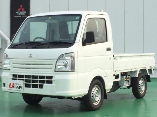 沖縄の中古車 三菱 ミニキャブトラック 車両価格 75.8万円 リ済別 2020(令和2)年 300km ホワイト