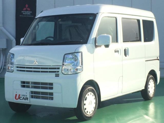 沖縄の中古車 三菱 ミニキャブバン 車両価格 134.8万円 リ済別 2020(令和2)年 8km ホワイト