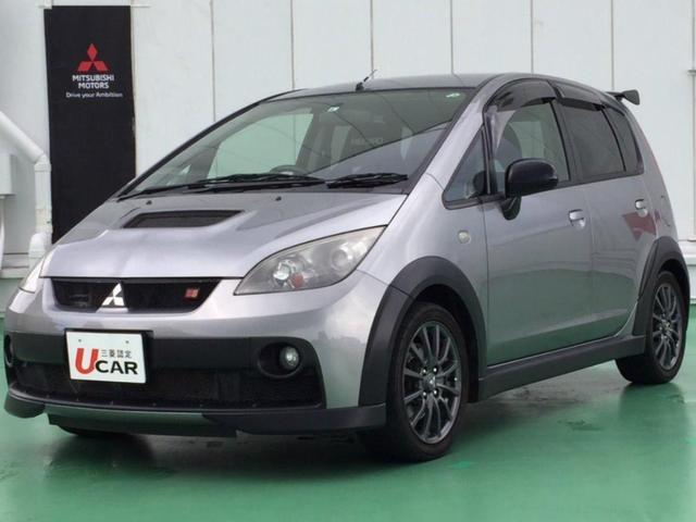 沖縄県の中古車ならコルト ラリーアート バージョンR ユーザー買取・運転席レカロシート・ラリーアート製リヤスポイラー・5MT・Bluetooth Audio・ラジオ・Bカメラ・ETC車載器・バニティミラー・16インチアルミホイール・ディスチャージ
