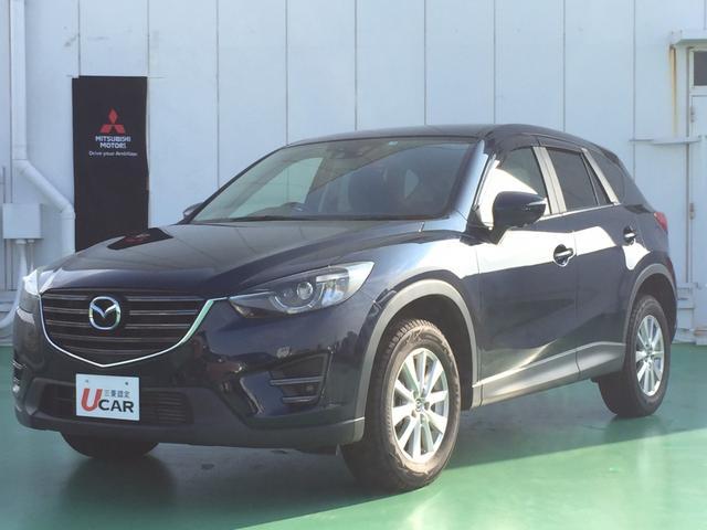 CX-5(沖縄 中古車) 色:ディープクリスタルブルーマイカ 価格:159.8万円 年式:2015(平成27)年 走行距離:5.3万km