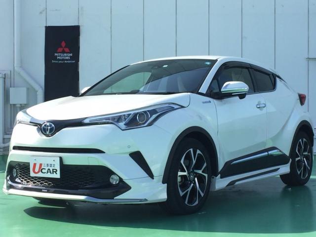 C-HR(沖縄 中古車) 色:ホワイト 価格:234.8万円 年式:2018(平成30)年 走行距離:5.4万km