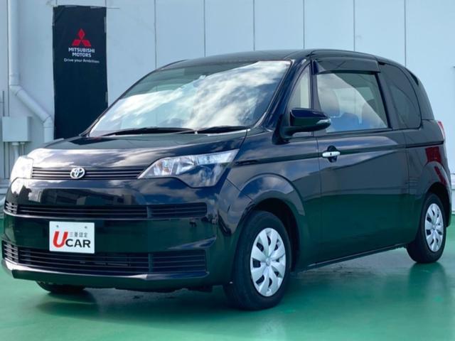 沖縄の中古車 トヨタ スペイド 車両価格 84.8万円 リ済別 2015(平成27)年 4.1万km ブラック
