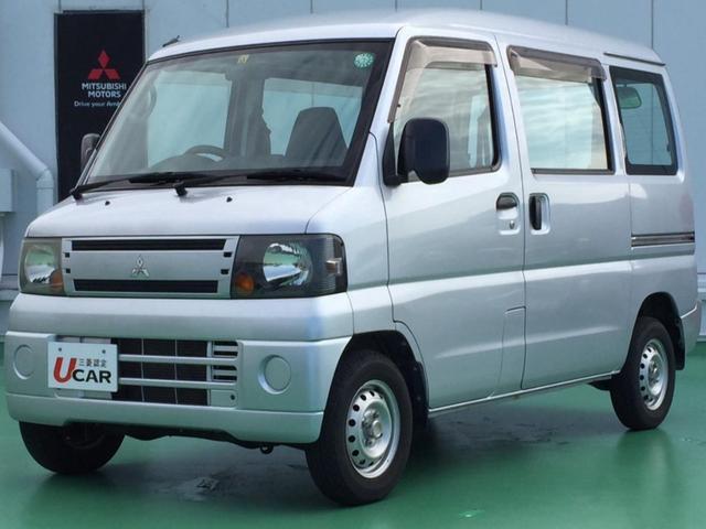 沖縄の中古車 三菱 ミニキャブバン 車両価格 59.8万円 リ済別 2010(平成22)年 5.3万km シルバー