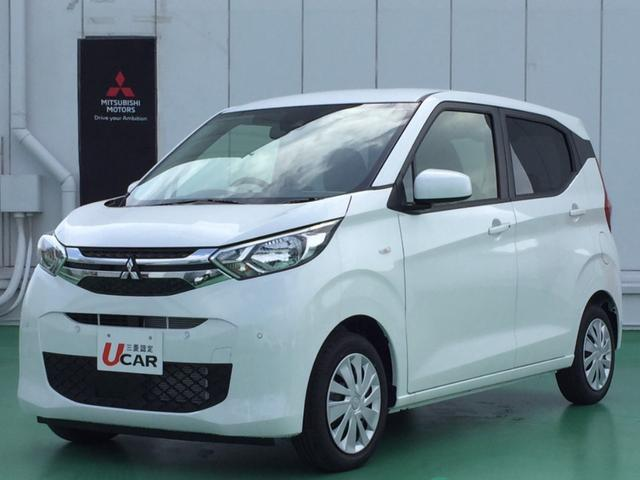 沖縄の中古車 三菱 eKワゴン 車両価格 119.8万円 リ済別 2021(令和3)年 3km パールホワイト