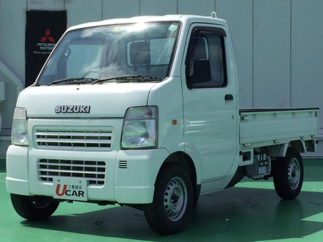 沖縄県名護市の中古車ならキャリイトラック KU エアコン・パワステ 内地仕入 エアコン・パワステ 5速マニュアル