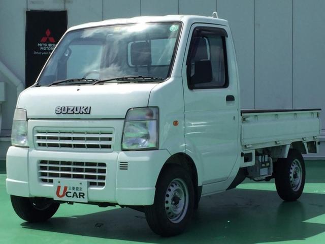 沖縄県の中古車ならキャリイトラック KU エアコン・パワステ 内地仕入 エアコン・パワステ 5速マニュアル