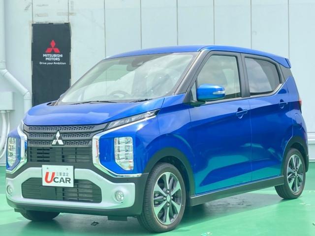 eKクロス(沖縄 中古車) 色:ブルー 価格:154.8万円 年式:2020(令和2)年 走行距離:21km