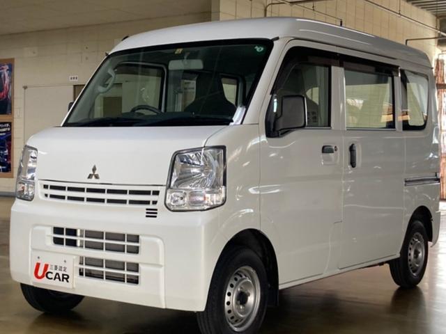 沖縄の中古車 三菱 ミニキャブバン 車両価格 79.8万円 リ済別 2018(平成30)年 2.9万km ホワイト
