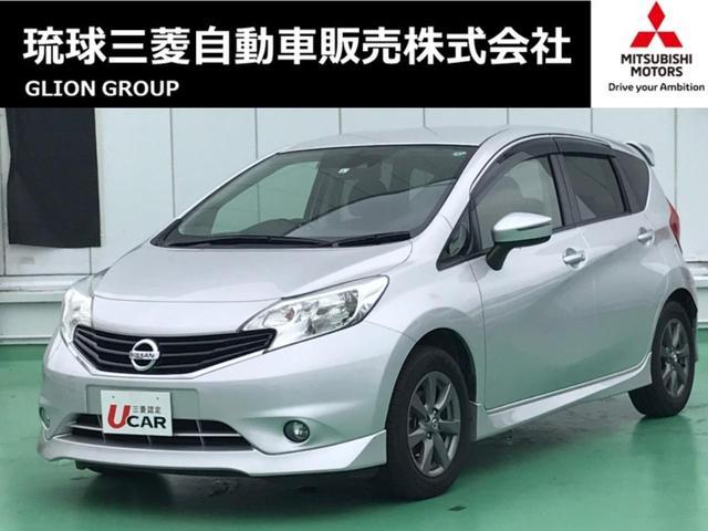 沖縄の中古車 日産 ノート 車両価格 79.8万円 リ済別 2015(平成27)年 3.1万km シルバー