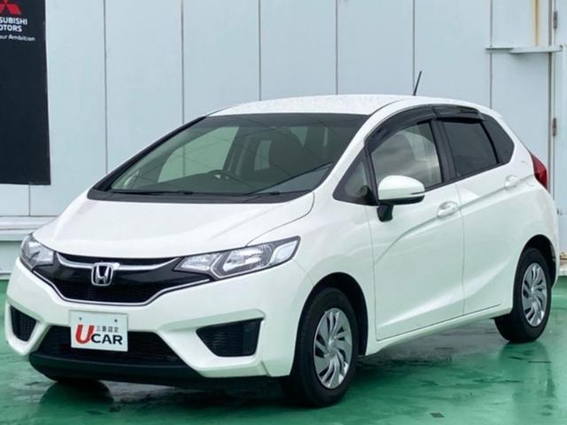 沖縄の中古車 ホンダ フィット 車両価格 89.8万円 リ済別 2016(平成28)年 4.7万km ホワイト