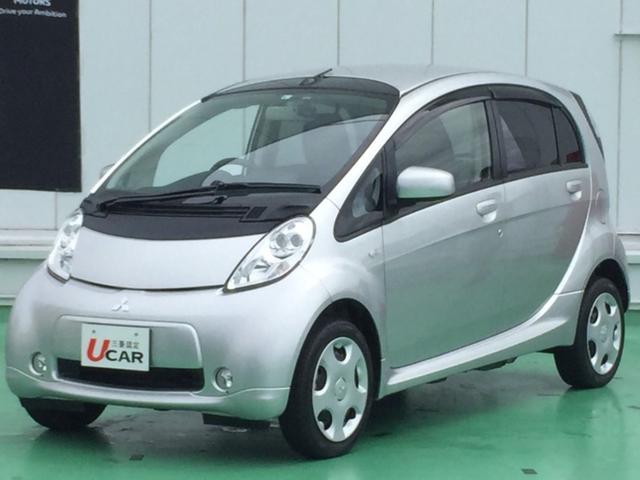 アイミーブ(三菱) X X(4名)内地仕入 電気自動車 ナビ バックカメラ ETC キーレス 中古車画像