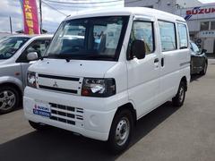 ミニキャブバン 4WD オートマ 福祉車両 ウェルキャブ 車いす移動車(三菱)