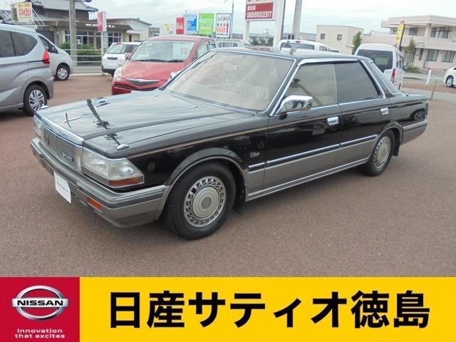 日産  V20ターボ アーバンG 500台限定車 特別限定塗装黒ツートン