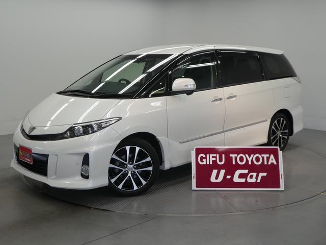 トヨタ エスティマ アエラス プレミアムエディション 『修復歴あり』・7人乗り・フルセグ付SDナビ
