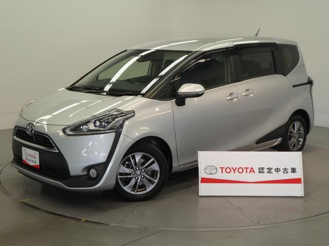 トヨタ シエンタ G トヨタセーフティーセンス付・両側電動スライドドア・ワンセグ付SDナビ