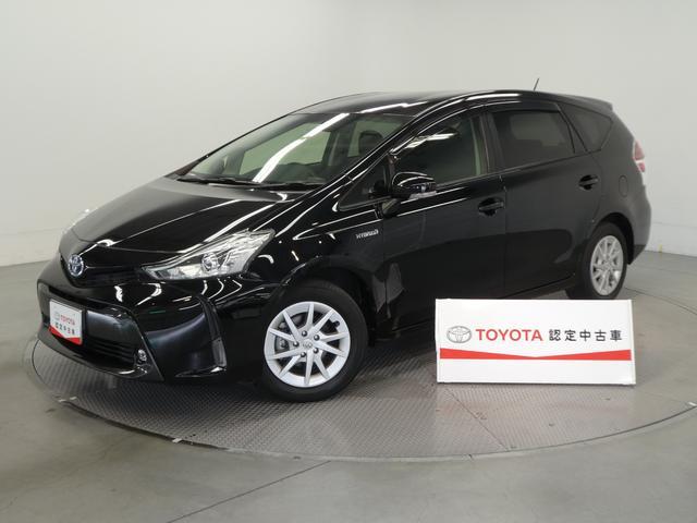 トヨタ プリウスアルファ S フルセグ付SDナビ・LEDヘッド・ETC