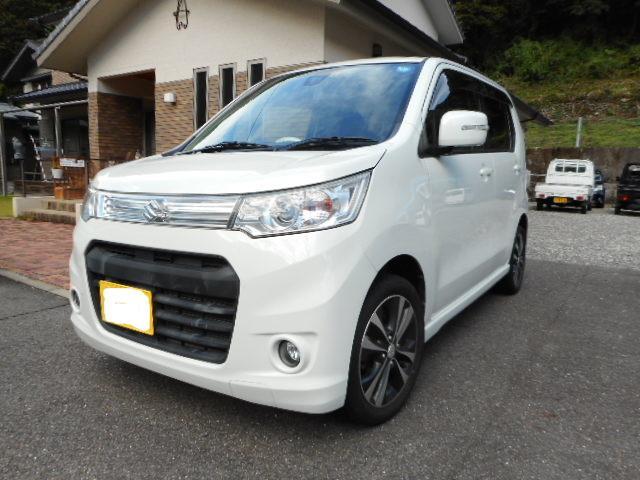 「スズキ」「ワゴンRスティングレー」「コンパクトカー」「岐阜県」の中古車
