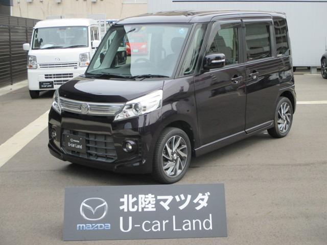 「マツダ」「フレアワゴンカスタムスタイル」「コンパクトカー」「福井県」の中古車