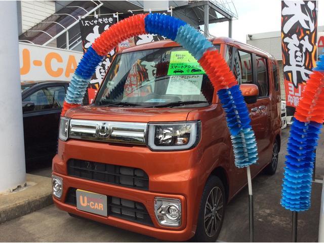 ダイハツ GターボSAIII 4WD 両側電動スライドドア キーフリー