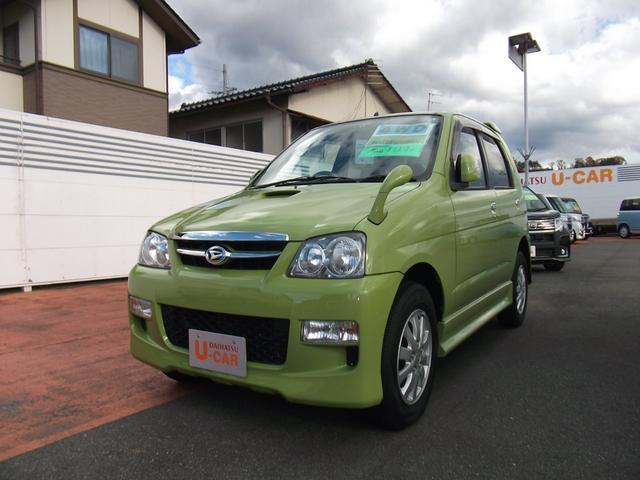 ダイハツ カスタムL 4WD ターボ CD MD スマートキー アルミ
