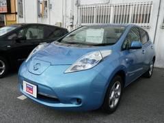 沖縄の中古車 日産 リーフ 車両価格 115万円 リ済別 平成23年 2.3万K アクアブルー3PM
