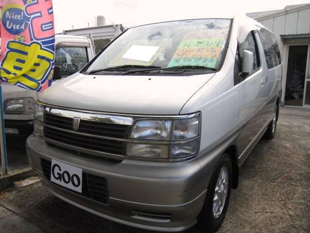 沖縄県の中古車ならキャラバンエルグランド V