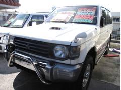 沖縄の中古車 三菱 パジェロ 車両価格 39万円 リ済込 平成5年 10.5万K ホワイトII