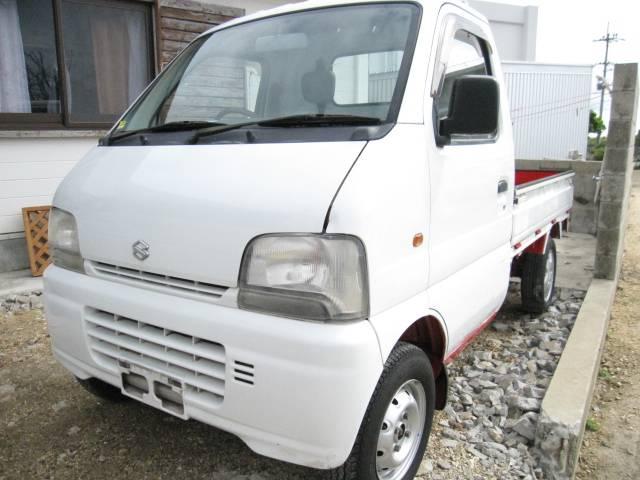 沖縄の中古車 スズキ キャリイトラック 車両価格 45万円 リ済込 平成11年 8.5万km ホワイト