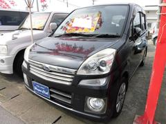 沖縄の中古車 スバル ステラ 車両価格 29万円 リ済込 平成19年 11.6万K ダークグレーメタリック