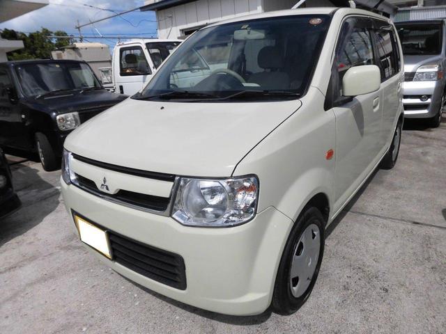 沖縄の中古車 三菱 eKワゴン 車両価格 43万円 リ済込 平成20年 9.0万km ベージュ