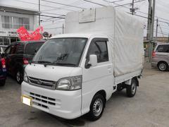 沖縄の中古車 ダイハツ ハイゼットトラック 車両価格 49万円 リ済込 平成19年 11.0万K ホワイト