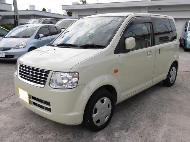沖縄の中古車 三菱 eKワゴン 車両価格 49万円 リ未 平成23年 9.4万km ペールベージュソリッド