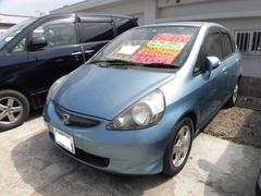 沖縄の中古車 ホンダ フィット 車両価格 15万円 リ済込 平成17年 12.3万K シリウスブルーメタリック