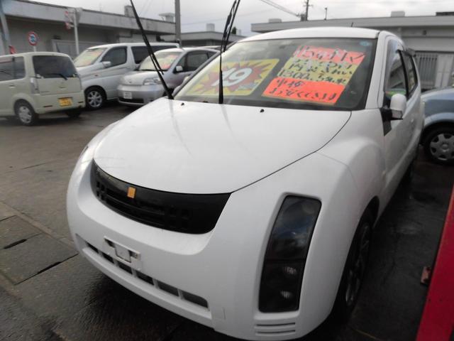沖縄の中古車 トヨタ WiLL サイファ 車両価格 19万円 リ済込 平成15年 8.8万km シロ