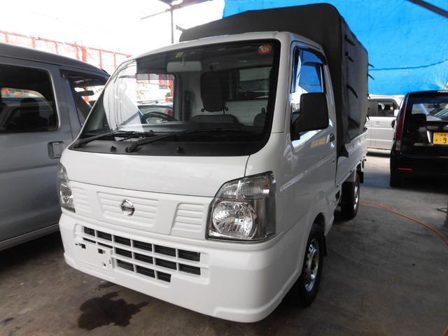 沖縄の中古車 日産 NT100クリッパートラック 車両価格 59万円 リ済込 2015(平成27)年 16.5万km ホワイト