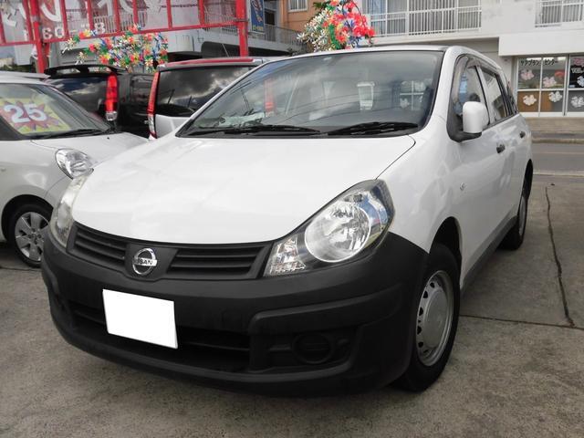 沖縄の中古車 日産 AD 車両価格 49万円 リ済込 2013(平成25)年 9.3万km ホワイト