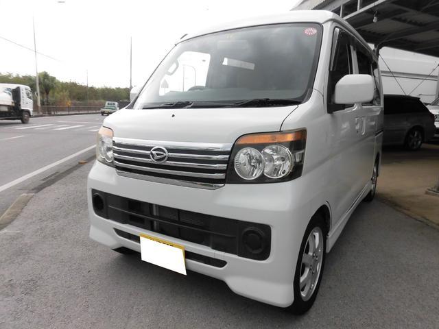 沖縄の中古車 ダイハツ アトレーワゴン 車両価格 39万円 リ済込 2007(平成19)年 15.2万km ホワイト