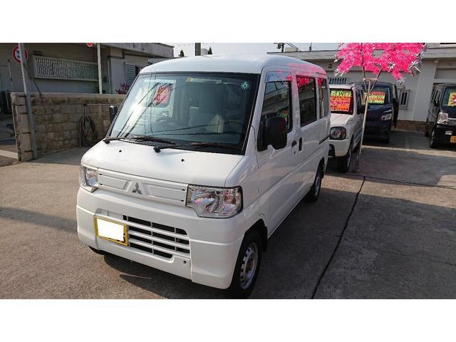 沖縄の中古車 三菱 ミニキャブバン 車両価格 49万円 リ済込 2012(平成24)年 16.3万km ホワイト