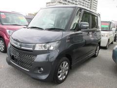 沖縄の中古車 スズキ パレットSW 車両価格 103万円 リ済別 平成25年 2.9万K グレー