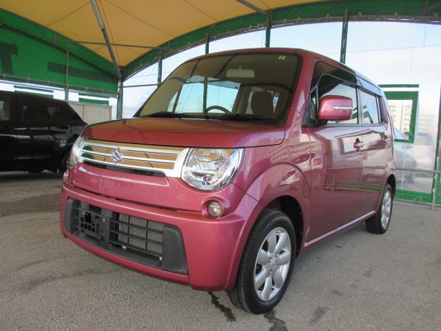 沖縄の中古車 スズキ MRワゴン 車両価格 59万円 リ済別 平成24年 4.4万km ピンク