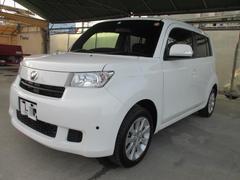 沖縄の中古車 トヨタ bB 車両価格 99万円 リ済別 平成27年 3.7万K ホワイト