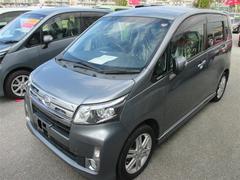 沖縄の中古車 ダイハツ ムーヴ 車両価格 91.8万円 リ済別 平成25年 6.6万K グレー