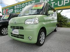 沖縄の中古車 ダイハツ タント 車両価格 64.8万円 リ済別 平成23年 8.2万K グリーン