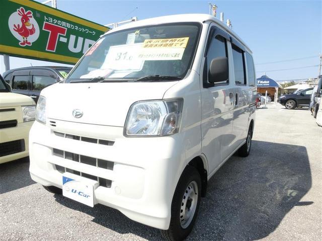 沖縄の中古車 ダイハツ ハイゼットカーゴ 車両価格 77.7万円 リ済別 2013(平成25)年 6.0万km ホワイト