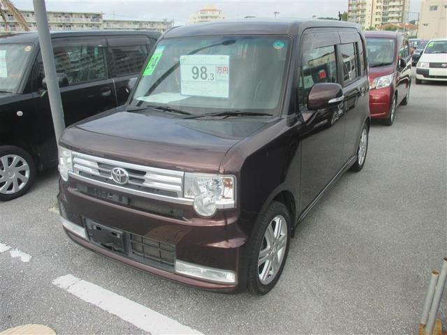 沖縄の中古車 トヨタ ピクシススペース 車両価格 90.6万円 リ済別 2012(平成24)年 5.7万km ブラウン