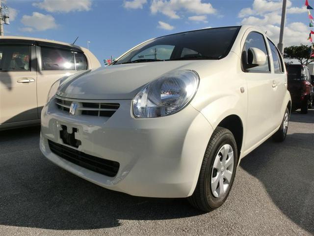沖縄の中古車 トヨタ パッソ 車両価格 69万円 リ済別 平成26年 4.3万km パールホワイト1