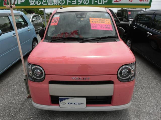 沖縄の中古車 ダイハツ ミラトコット 車両価格 120.2万円 リ済別 2018(平成30)年 0.4万km ピンク