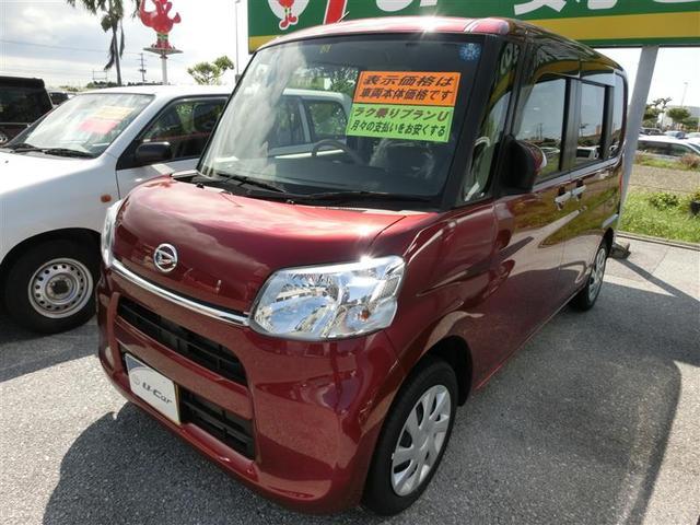 沖縄の中古車 ダイハツ タント 車両価格 115.5万円 リ済別 2018(平成30)年 0.3万km レッド